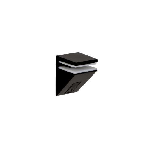 KALABRONE Portaestante angular para cristal y madera regulable de 5 a 10 mm.