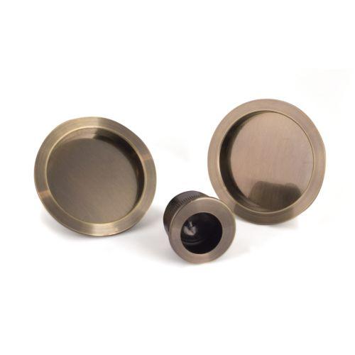 ECO-NOE - Kit 2 cazoletas ciegas redondas y dedal redondo
