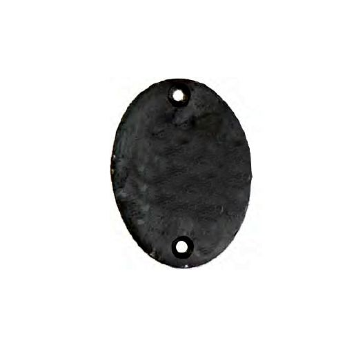 Placa oval sin muelle MALLORCA de Forja Fragua
