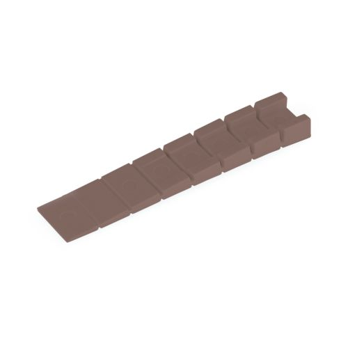 Cuña de plástico para mueble de 1 a 8 mm.