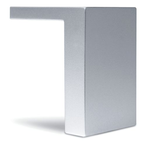 Pata para Muebles Fija AITOR en forma de L de 90 de largo