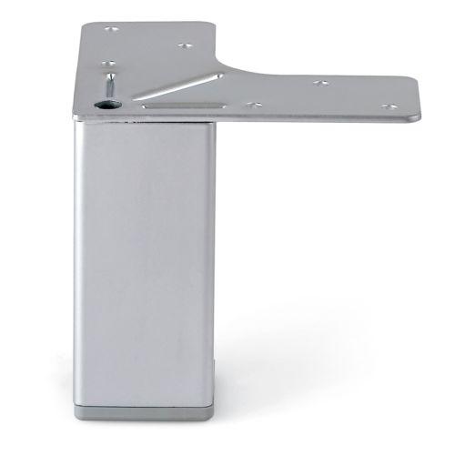 Pata para Mueble CLAUDIA - Fija - Ø40 mm. Con base en L