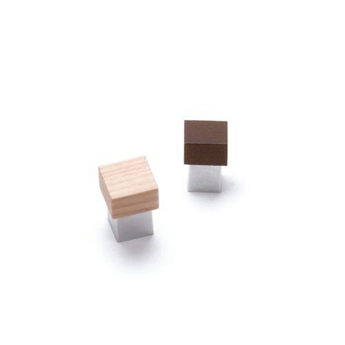 Pomo de madera combinado SYMBIOSIS