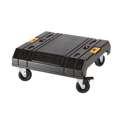 Plataforma con ruedas T STAK CART para fijar las cajas de herramientas DEWALT