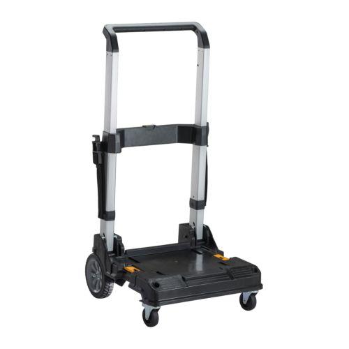 Trolley T STAK para montar las cajas de herramientas apilables DEWALT
