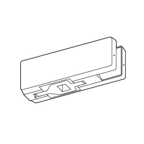 Brazo de eje centrado inferior para cierrapuertas y puertas de vidrio
