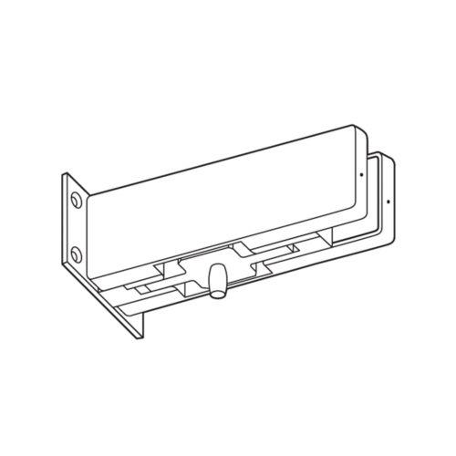 Pivote superior costado madera-vidrio para cierrapuertas y puerta de vidrio