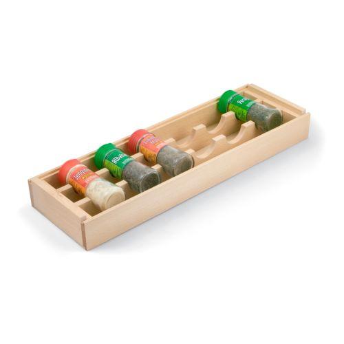 COLOMBO - Especiero de madera para el interior del cajón