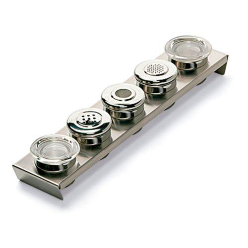Set de 2 tarros y 3 dispensadores de especias para los modelos NICOLE y TALOS