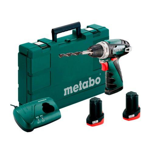 METABO POWERMAXX BS BASIC - Taladro Atornillador a batería (12V / 2,0Ah)