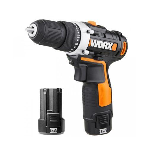 WORX WX128.3 - Atornillador con 2 baterías (12V/2.0Ah)