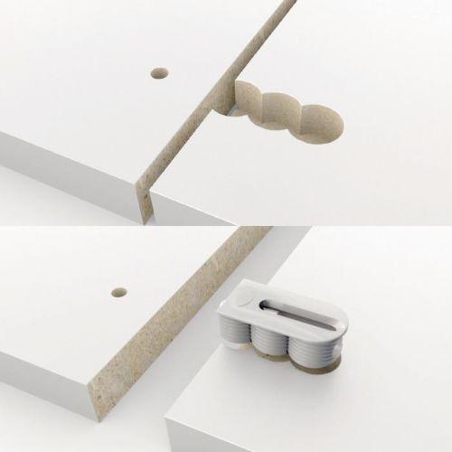 CABINEO - Ensamble de conexión para módulos de mueble