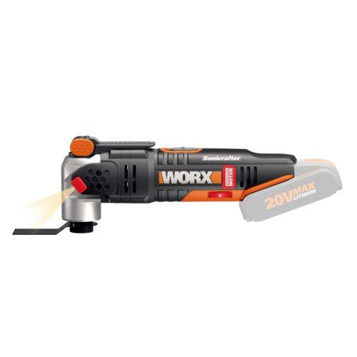 Recortadora sin batería WORX WX693.9 - Sonicrafter 20V
