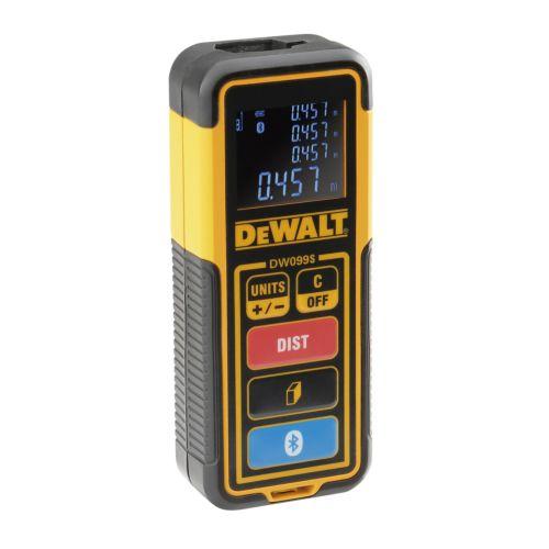 Distanciómetro láser DEWALT DW099S - 30m - Con Bluetooth
