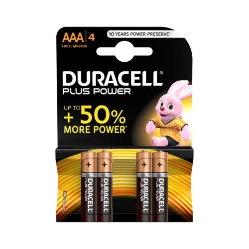 Pilas Duracell PlusPower (1,5V)