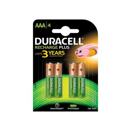 Pilas Duracell Recargables (1,5V)