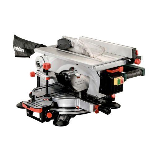METABO KGT 305 M - Ingletadora y sierra circular de mesa (1600W)