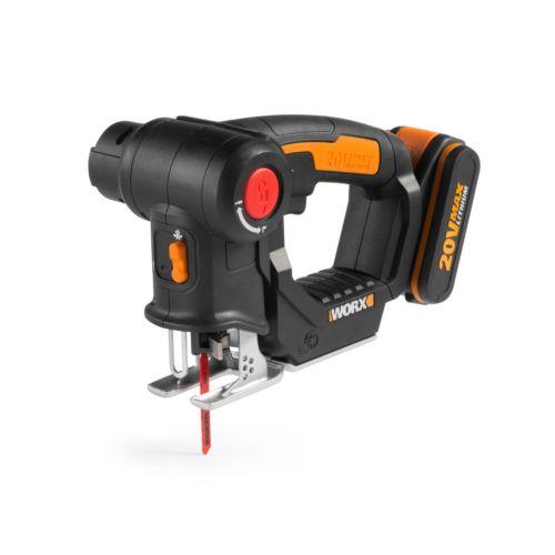 WORX NR WX550 - Sierra sable y de calar con batería 20V-2.0Ah