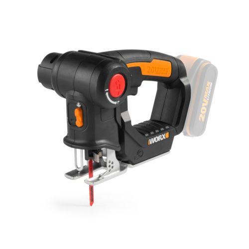WORX NR WX550 - Sierra sable y de calar sin batería 20V-2.0Ah