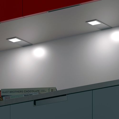 AYLIN - Foco rectangular sobrepuesto extrafino de LED