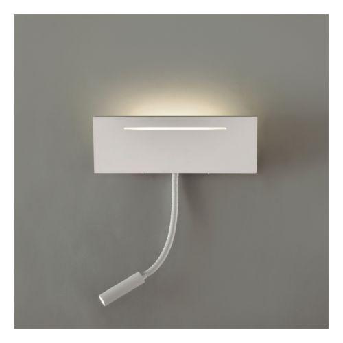 ARIEL - Rectangular con flexo orientable con lámparas led incluida