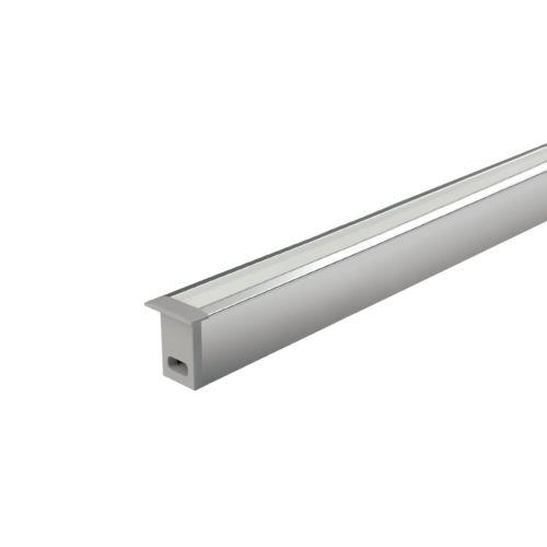 MINI - Perfil empotrado para rollos led de 15W/m. máx.