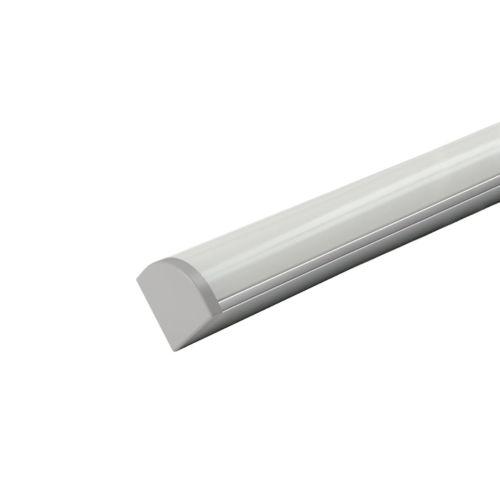 MINI CORNER - Perfil sobrepuesto esquinero para rollos led de 15W/m. máx.