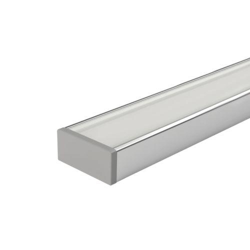 LEONARDO - Perfil sobrepuesto para tira led hasta 20W/m