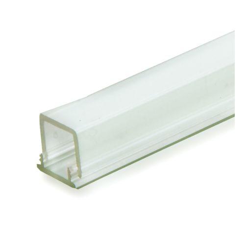 "GINO - Perfil Termoplástico LED forma ""U"" con tapa transparente hasta 5W"