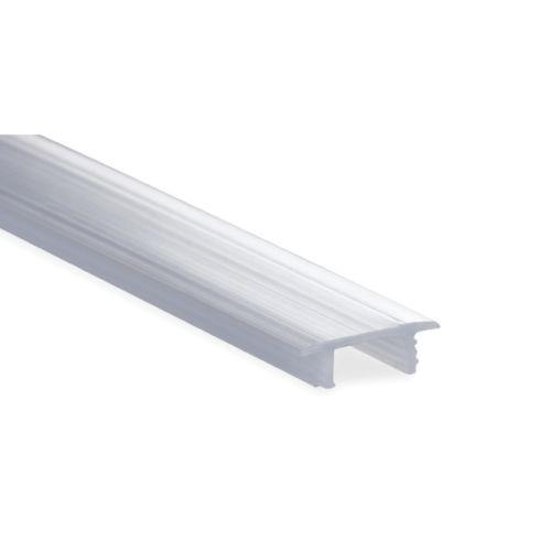 Perfil difusor para regletas LED