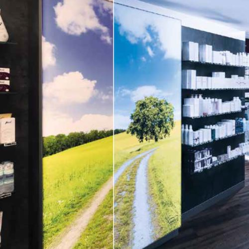 LED PANEL - Panel LED Con Marco Plegable para Iluminar mueble o publicidad