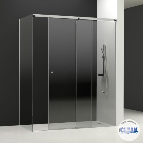 Lateral fijo para modelo Kala 2C con cristal transparente y con totalCLEAN«