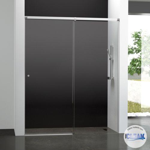 Mampara de baño Kala 2C con cristal transparente y con totalCLEAN« (1 puerta corredera y 1 fijo)