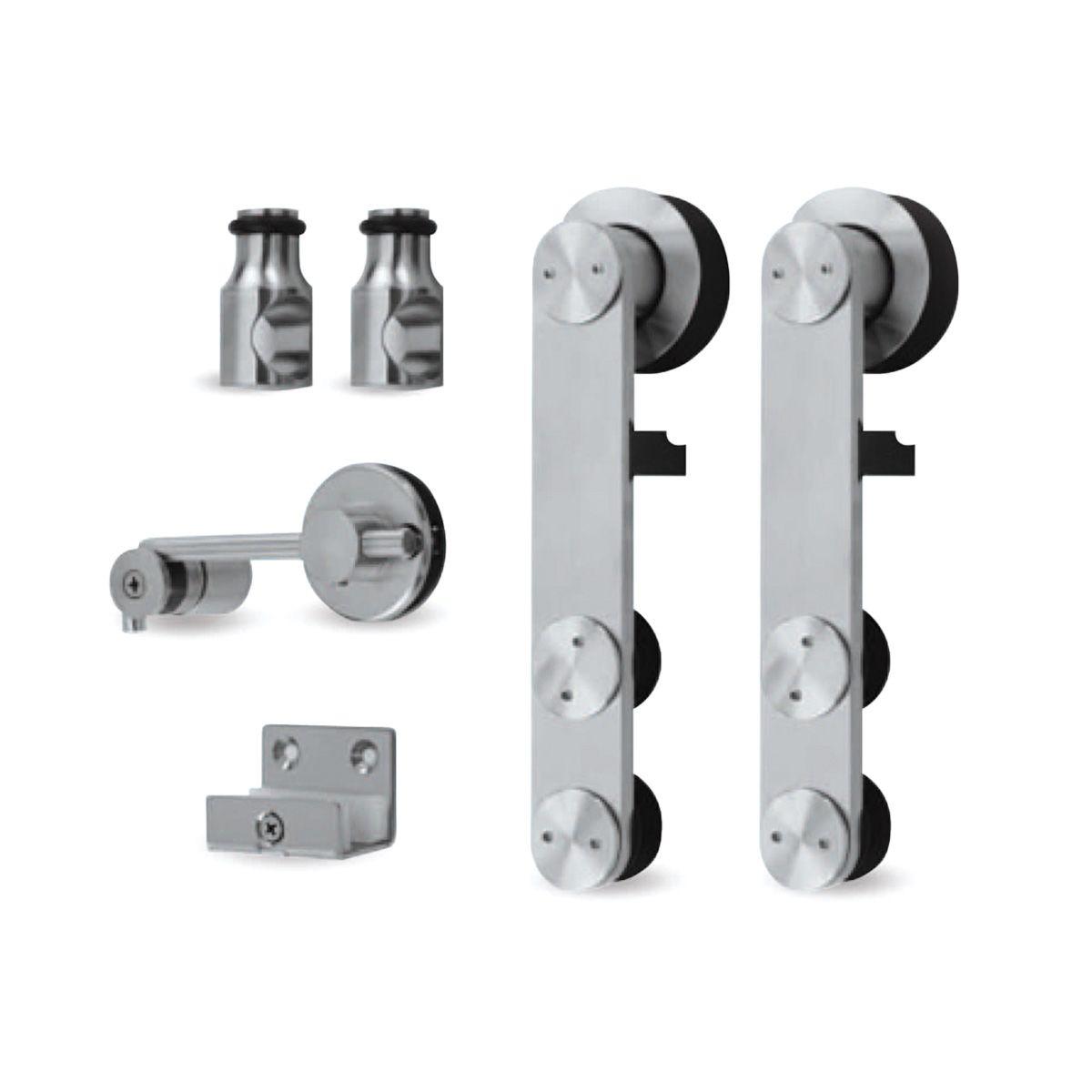 puertas y ventanas ruedas correderas para muebles herrajes de metal para puertas correderas Juego de 2 ruedas para puerta corredera