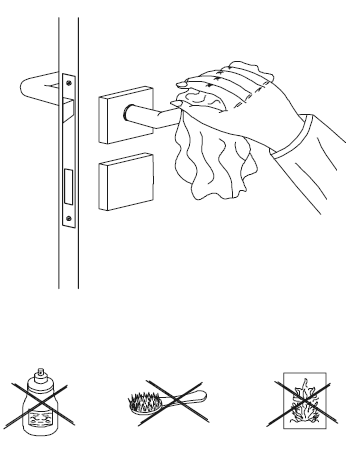 Mantenimiento de tiradores, pomos y manillas en casa