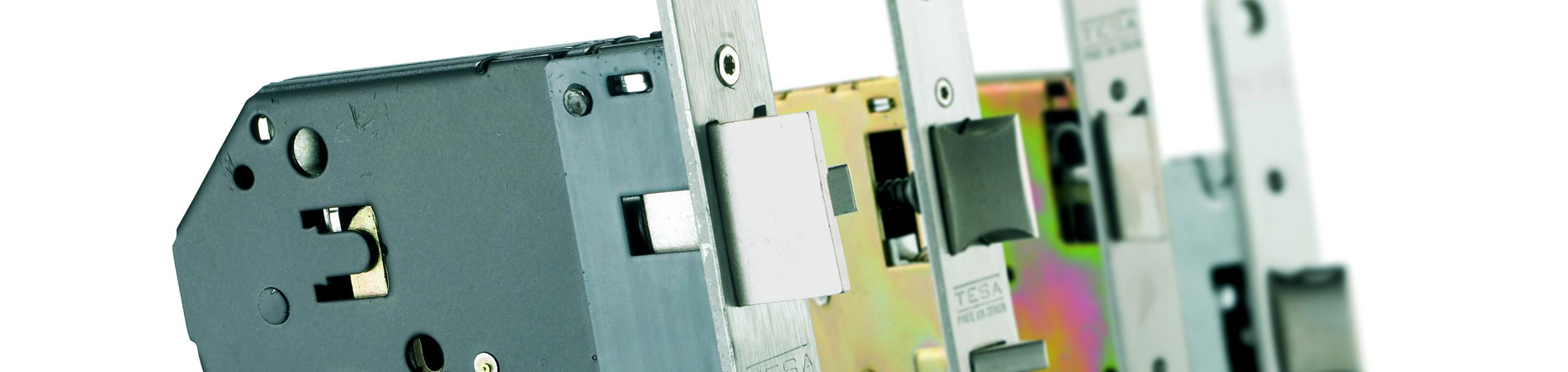 Cerraduras embutidas para carpintería de madera