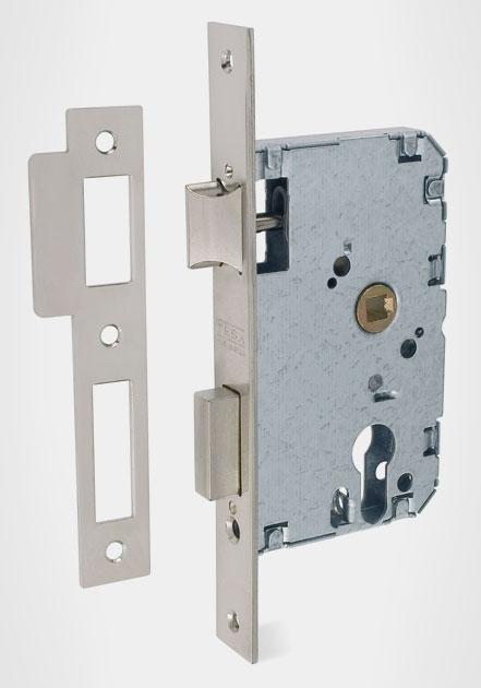 Cerraduras embutidas de cilindro golpe y llave