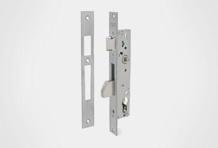 Cerraduras embutidas golpe y llave