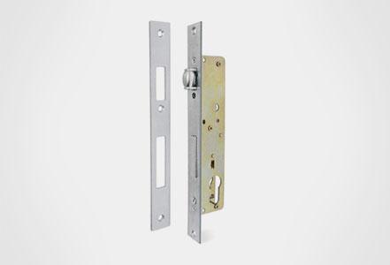 Cerraduras embutidas rodillo y llave
