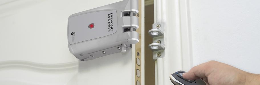 Cerraduras electrónicas sobrepuestas invisibles