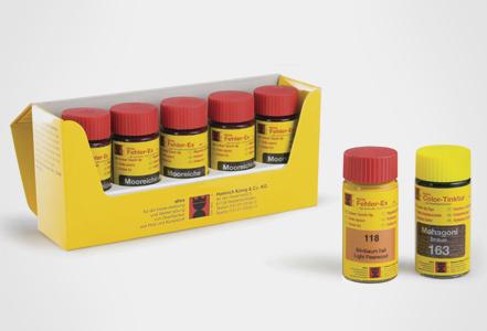 Elementos de Retoque para Madera - Tinte