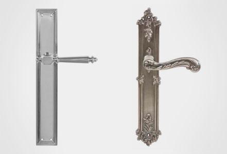 Herrajes y manillas puertas línea artesanal