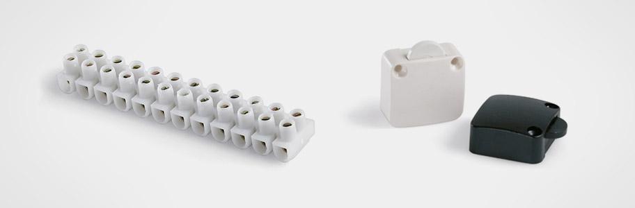 Interruptores, Contactores y Regletas de Conexión