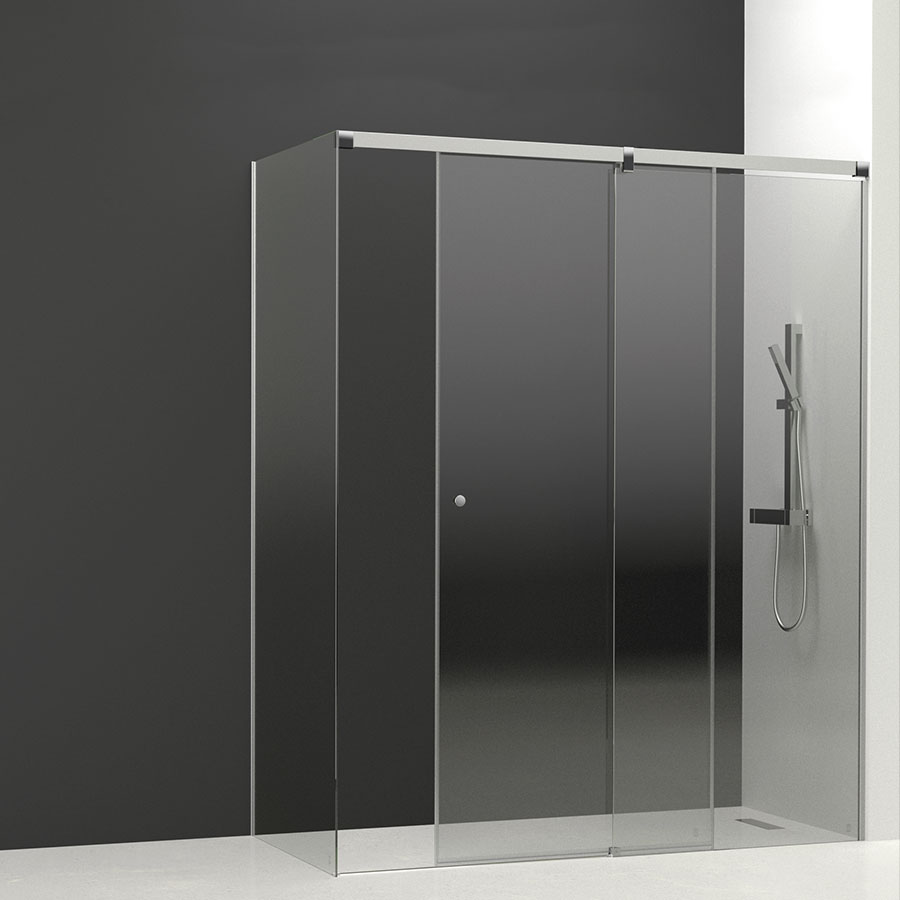 Mampara puertas correderas