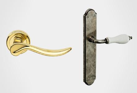 Rosetas y manillas puertas línea Classic Hábitat