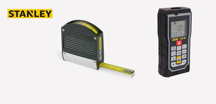 Stanley herramientas de medición