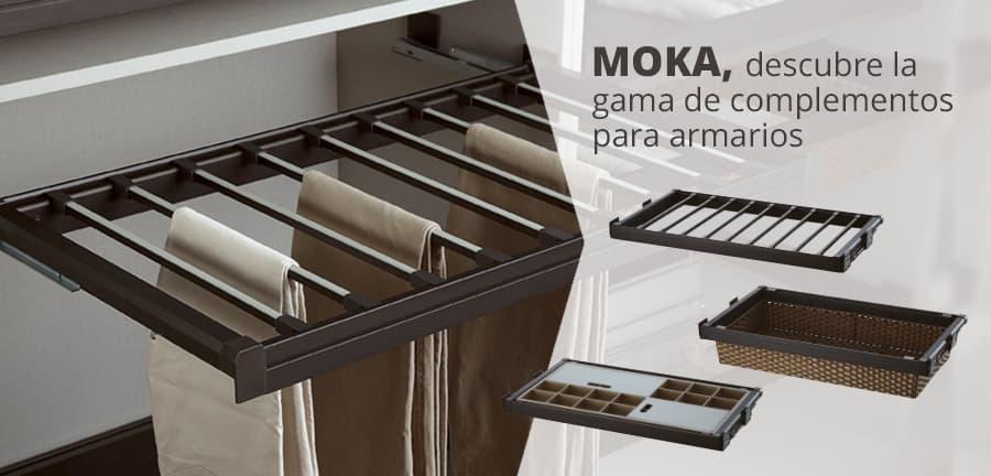 gama moka para organizacón de armarios
