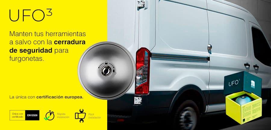 Cerrojo para puertas de furgonetas
