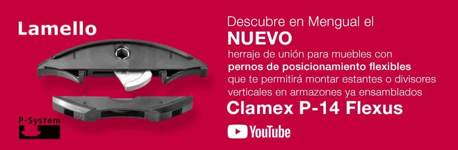 Lamello Clamex P-14 Flexus P-System