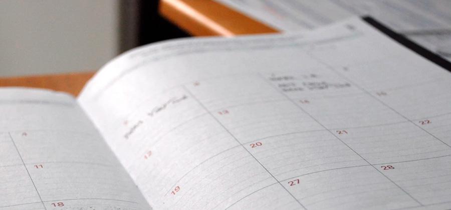 Calendario labora de Mengual